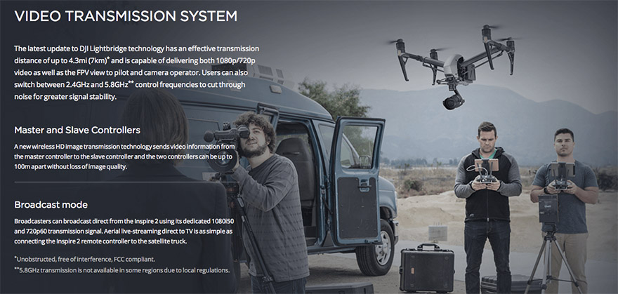 Dji Inspire 2 Multikopt 233 Ry Proficams On Line Shop