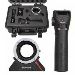 Aputure DEC Wireless Focus & Aperture Controller Lens Adapter EF a EF-S / E-Mount