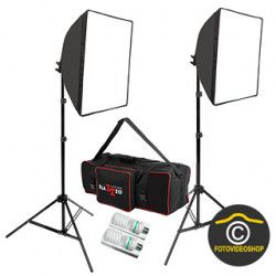 Daylight 400W +400W Softbox