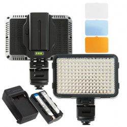 LED svetlo XT 10W Bi-Color + Li-ion bat�ria + nab�ja�ka