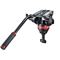 Manfrotto MVH502A, video hlava 502 vr�tane 75mm pologule