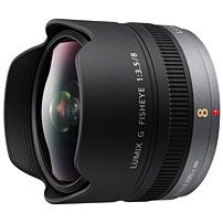 Panasonic LUMIX G fisheye 8mm /F3.5